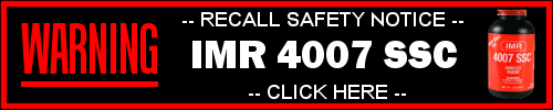 IMR 4007 SSC SAFETY RECALL NOTICE
